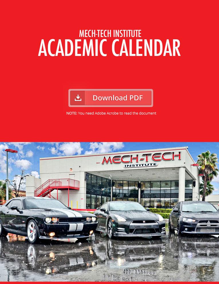 Calendario Académico para Recinto de Orlando, FL