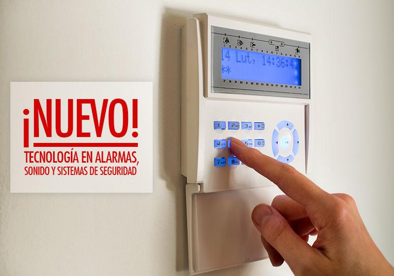 ¡NUEVO! Programa de Alarma, Sonido y Sistemas de Seguridad